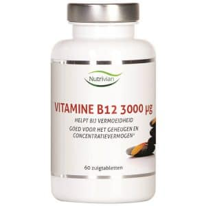 Product image of Nutrivian B12 Vitamin (60 pieces)